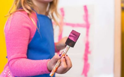 Keep Your Child's Artwork on Paper, Not Your Carpet