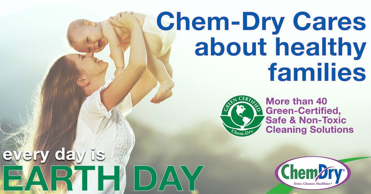 Chem-Dry cares about healthy families